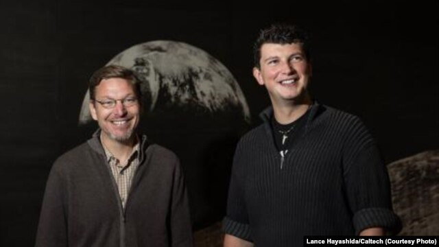 "Russian astronomer Konstantin Batygin (right) and his colleague Mike Brown (left) have published their research in the hope that the public can help them find our solar system's ""ninth planet."""