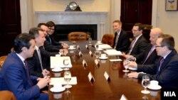 Архивска фотографија - Никола Груевски на средба со потпретседателот на САД Џозеф Бајден во Вашингтон.