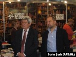 Editorii Gheorghe Prini și Iurie Bârsa la Târgul de carte Gaudeamus 2017
