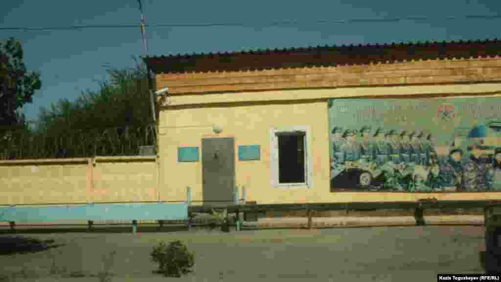 Контрольно-пропускной пункт части внутренних войск впоселке Заречный- недалеко от тюрьмы, где находится в заключении оппозиционный политик Владимир Козлов.