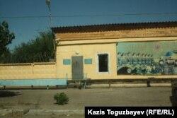 Контрольно-пропускной пункт части внутренних войск. Поселок Заречный Алматинской области, 10 августа 2014 года.