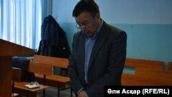 Адвокат футбольного клуба «Актобе» Марат Ниязмаганбетов в суде. Актобе, 14 февраля 2017 года.