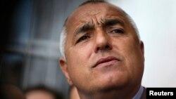 Поранешниот бугарски премиер и лидер на конзервативната партија Граѓани за европски развој на Бугарија Бојко Борисов