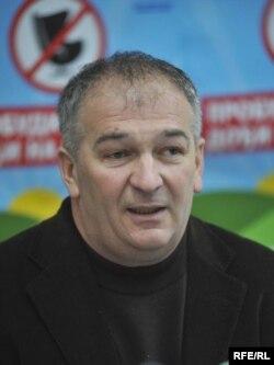 Predsednik Samostalnog sindikata Ljubisav Orbović