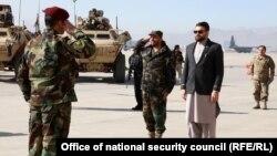 دیدار حمدالله محب از قول اردوی هوایی افغانستان