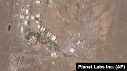 تصویری ماهوارهای از تاسیسات غنیسازی اورانیوم در نطنز