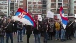 Protest zbog presude Ivanoviću