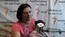 Интервью участницы митинга на Площади фонтанов 20 октября в Баку