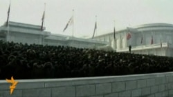Шимолий кореяликлар Ким Чен Ирни хотирламоқда