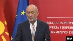 Евроамбасадорот Дејвид Гир