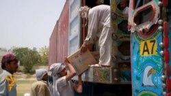 UN Distributes Aid To Pakistanis Fleeing North Waziristan