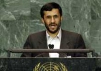President Ahmadinejad during his September address to the UN General Assembly (epa)