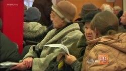 Из-за падения рубля пенсии русских пенсионеров в Латвии сократились на 15%