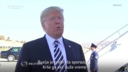 Tramp: Rusija je kršila sporazum