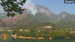Bosnia Battles Forest Fires Amid Heat Wave