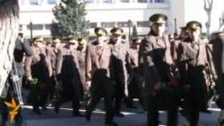 Посещение могилы Гейдара Алиева