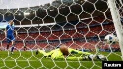 Եվրո-2016․ Իսլանդիան երկրորդ գնդակն է ուղարկում Ավստրիայի հավաքականի դարպասը, Սեն Դենի, 22-ը հունիսի, 2016թ․