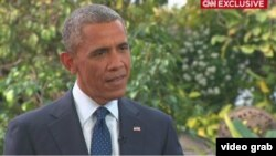 ԱՄՆ նախագահ Բարաք Օբաման հարցազրույց է տալիս CNN-ին