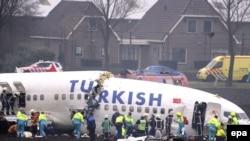 Кырсыкка учураган Боинг 737 жүргүнчү учагы, Амстердам, 25-февраль, 2009-жыл