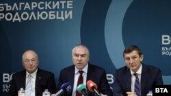 "Марешки ще води евролистата на ""Воля - български родолюбци"""