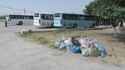 Aşgabat: Zir-zibil gutularynyň daş-töweregi arassalanmaýar
