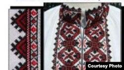 Із плакату виставки «Українська вишивка»