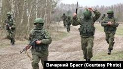 Пскоўскія дэсантнікі пад Берасьцем, 2015 год