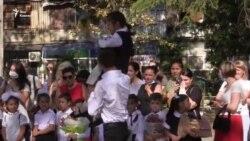 Первоклассники пришли в школы Абхазии, несмотря на пандемию