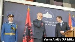Edi Rama və Aleksandar Vucic