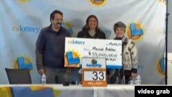 ABŞ-da lotereya qalibləri.