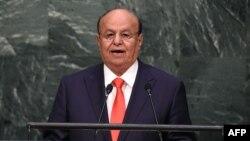 Presidenti në mërgim i Jemenit, Abd-Rabbu Mansour Hadi.