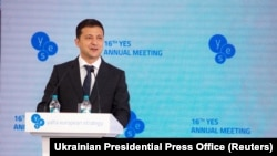 Ukrainanyň prezidenti Wladimir Zelenskiý