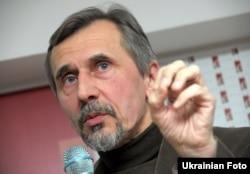 Микола Рябчук, український письменник, політичний оглядач. Київ, 27 лютого 2011 року