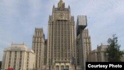 Здание МИД России на Смоленской площади в Москве