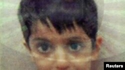 Five-year-old Sahil Saeed (identity card photo)