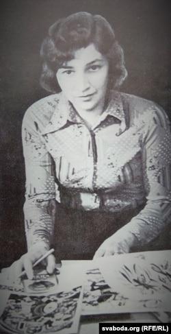 Алена Лось. 1977 г.