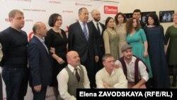 Встреча в Русском театре драмы
