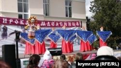 Праздник «Широкая Масленица» в Симферополе, март 2016 год