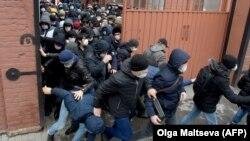 Трудовые мигранты. Санкт-Петербург. 3 апреля 2020
