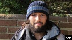 O fotografie a lui Oscar Ortega-Hernandez luată de poliție