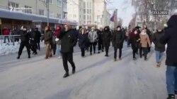 Protesti za Navalnog širom Rusije, u Parizu, Talinu i Beogradu