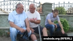 Краязнаўцы Сяргей Чыгрын і Валеры Петрыкевіч