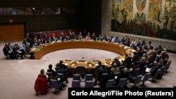 یکی از نشستهای شورای امنیت سازمان ملل در اوائل اسفند سال ۹۸