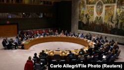 The United Nations Security Council is to decide about the lifting of an arms embargo on Iran on October 18. FILE PHOTO.