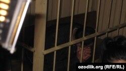 Russia/Uzbekistan - uzbek migrant in court in Moscow, 05 February 2013