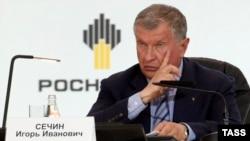 Глава «Роснефти» Игорь Сечин.