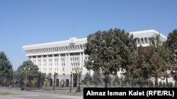 Здание правительства в Бишкеке.