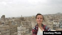 Sarah Shourd, one of the three American hikers being held in Iran