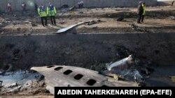 سقوط طیارۀ اوکراینی در تهران