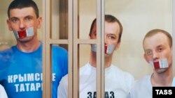 Фігуранти справи у суді російського Ростова-на-Дону, 7 вересня 2016 року